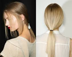 layer hair with ponytail at crown low ponytails instyle hair