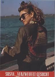 Seeking Card Madonna Desperately Seeking Susan German Lobby Card 302148
