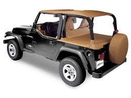 jeep wrangler cer top tops canvas bestop bes 90019 15 bestop duster deck