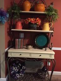 How To Decorate A Bakers Rack Angie Gren Interiors Cottage Style 2013 Diy Home Decor