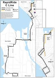 Metro Line Map by Rapidride C U0026 D Extensions Programs U0026 Projects King County