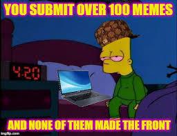 Bart Simpson Meme - bart simpson high af memes imgflip