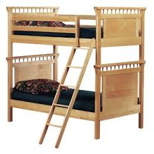 Futon Bunk Bed  Shop Bunk Beds With Futons - Wood bunk bed with futon