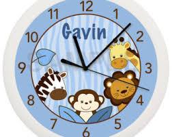 baby wall clock etsy