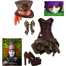 Womens Mad Hatter Halloween Costume Mad Hatter Costume Sperrbear101 Polyvore Featuring Lola