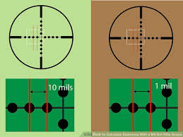 pubg 8x scope range how to calculate distances with a mil dot rifle scope 7 steps