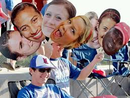 fan faces on a stick super fast next day shipping for big and huge face cutouts by