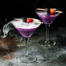 purple martini recipe the witch u0027s heart halloween cocktail the flavor bender