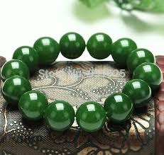 elastic bead bracelet images Beautiful 10mm real green natural stone beads bracelet stretch 7 5 jpg