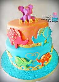 moroccan baby shower baby shower cake of moroccan elephants ewe