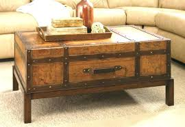 Suitcase Coffee Table Travel Trunk Coffee Table Beaconinstitute Info