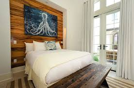 Beach Cottage Bedroom by Octopus Triptych Art Cottage Bedroom Alys Beach