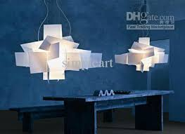 Modern Light Chandelier Discount 90cm White Large Modern Big Bang Pendant Lamp Ceiling