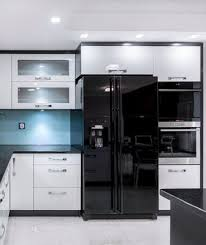 kitchen with stainless steel appliances black stainless steel appliances are the hot kitchen trend we ve