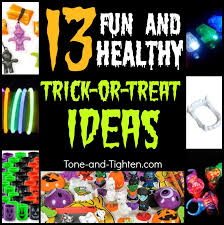healthy and active trick or treat items u2013 give more than candy