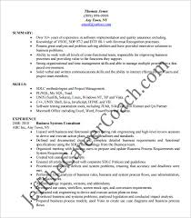 ba resume format business analyst resume template u2013 15 free samples examples