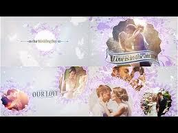 elegant wedding story slideshow after effects template after