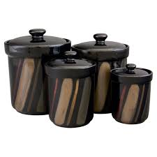 100 kitchen canisters black red canister set for kitchen