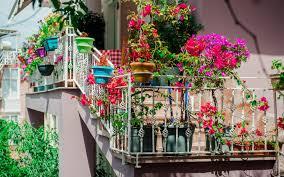 balkon blumen balkon und dachgärten garten europa