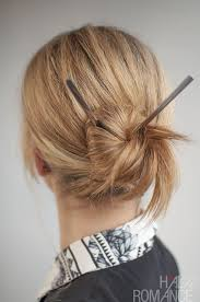 chopsticks for hair 30 buns in 30 days day 17 chopstick bun hair