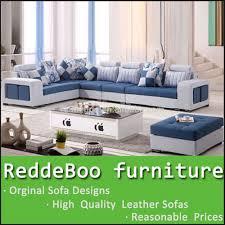 Fabric Sofa Set L Shape Multi Fabric Sofa Lobby Fabric Sofa Set Leisure Furniture