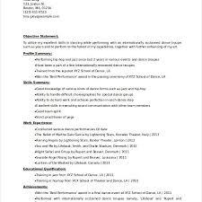 Dancer Resume Sample Vibrant Design Dance Resume Template 2 Dancer Resume Template