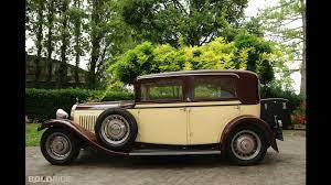 vintage bugatti bugatti type 49 saloon