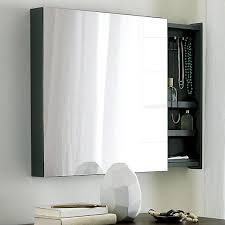 mirror and jewelry cabinet valet grey jewelry cabinet with mirror