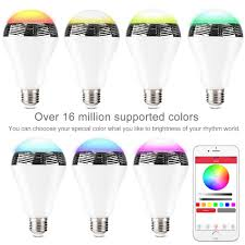 Switching To Led Light Bulbs by 1byone App Controlled Bluetooth 4 0 Speaker Multicolored Led