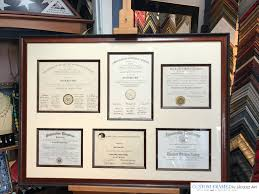 framing diplomas diploma custom framing jacquez custom framing