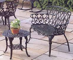 Cast Aluminum Patio Chair Garden Bench Cast Aluminum Patio Furniture Loveseat Awesome