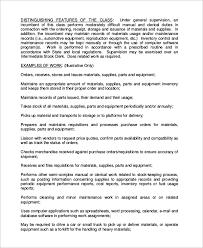 stock clerk job description samples