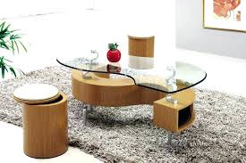 Ottoman Storage Coffee Table Coffee Table With Ottomans Underneath Coffee Table With