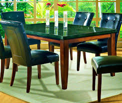 dining room fascinating black granite top dining table kitchen
