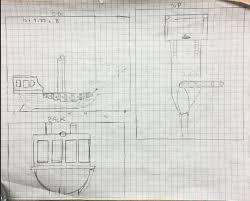 pirate ship tape dispenser by kingben11 thingiverse