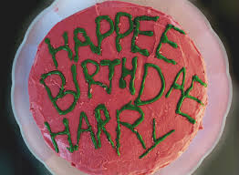 harry potter u0027s birthday cake as seen in the movie 14 steps with