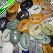 engraved stones 1 2 oval crafts engraved stones inspirational word logo