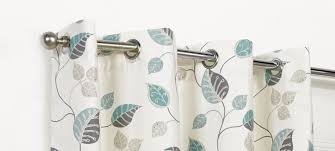 Teal Curtains April Teal Floral Ring Top Eyelet Lined Curtains 4yh Textiles