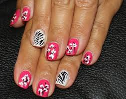 zebra pattern nail art 9 best zebra nail art designs with pictures styles at life