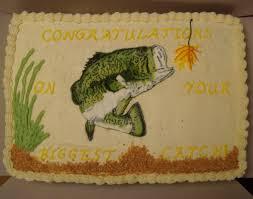 bass fish cake bass fish grooms cake bakery serafina
