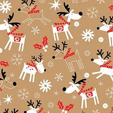 christmas kraft wrapping paper image result for reindeer wrapping paper christmas