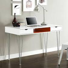 White Computer Desk Modern White Computer Desk Modern Matte White Computer Desk