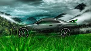 nissan skyline 2015 wallpaper nissan skyline gtr r34 jdm side crystal nature car 2014 el tony