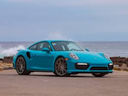 blue porsche 911 2017 porsche 911 turbo s first review kelley blue book