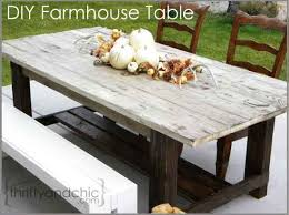 How To Build Dining Room Table 18 Diy Outdoor Dining Room Tables