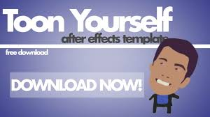 free after effects template u2013 toon yourself vfx bro