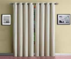 White Darkening Curtains Warm Home Designs 1 Panel Of Ivory White Standard Size 54 X 84