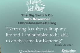 kettering born comedian to switch on town u0027s christmas lights