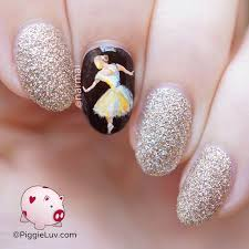 ballerina nail art ballerina nails and ballerina