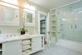 Cheap Home Interior Decorating Remodeled Bathroom Design Ideas - Elegant white cabinet bathroom ideas house